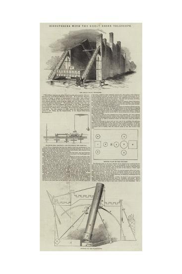 Discoveries with the Great Rosse Telescope--Giclee Print
