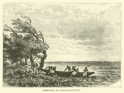 Discovery of Lake Bangweolo--Giclee Print