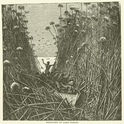 Discovery of Lake Nyassa--Giclee Print