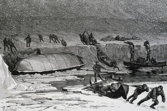 Discovery of Remains of Adolphus Greely'S--Giclee Print