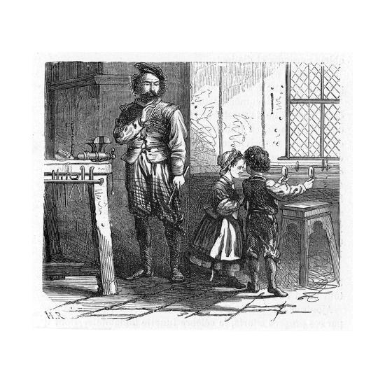 Discovery of the Principle of the Telescope, 17th Century--Giclee Print