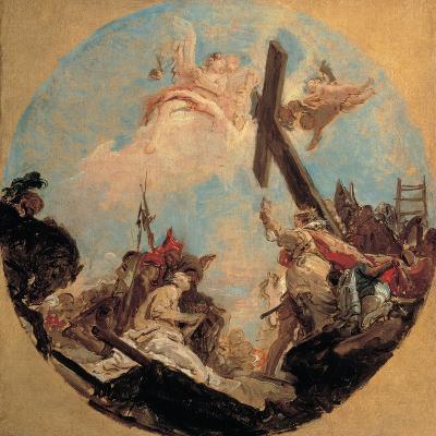Discovery of the True Cross and St Helena-Tiepolo Giambattista-Giclee Print