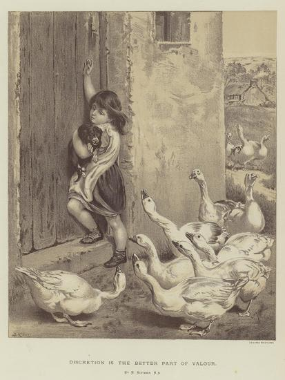 Discretion Is the Better Part of Valour-Briton Riviere-Giclee Print