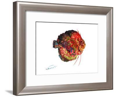 Discus 4-Suren Nersisyan-Framed Art Print