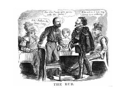 Discussion over the Future Ruler of Unified Italy, 1860--Giclee Print