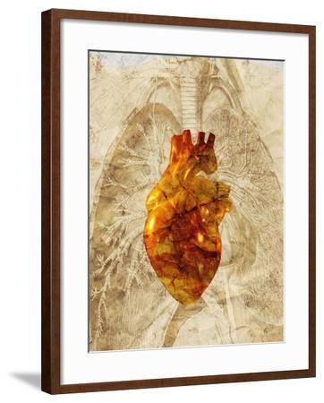 Diseased Heart-Mehau Kulyk-Framed Photographic Print