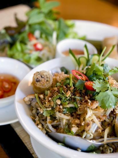Dish at the Cyclo Vietnamese Restaurant, Munich, Germany-Yadid Levy-Photographic Print