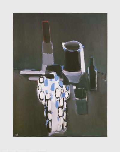 Dish, Pots and Bottles-Nicolas De Sta?l-Art Print