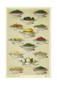 Dishes of Vegetables