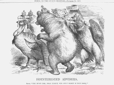 Disinterested Advisers, 1875-Joseph Swain-Giclee Print