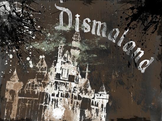 Dismal's Castle-Banksy-Giclee Print