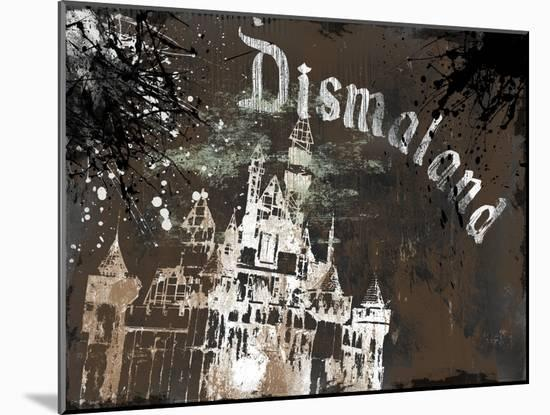 Dismal's Castle-Banksy-Mounted Giclee Print