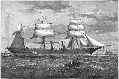 Dispatch Vessel HMS Iris, C1880--Giclee Print