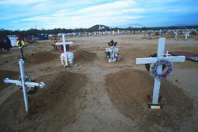 Display, Day of the Dead, Tucson, Arizona--Photographic Print