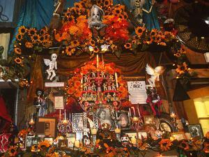 Display, Day of the Dead, Tucson, Arizona