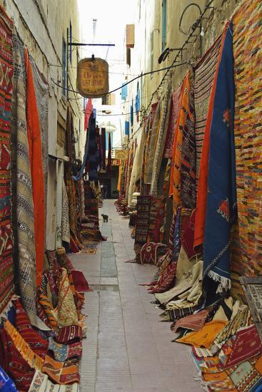 Display of Merchandise, Essaouira, Morocco, North Africa, Africa-Jochen Schlenker-Photographic Print