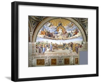 ARTCANVAS Disputation of the Holy Sacrament 1510 Canvas Art Print by Raphael