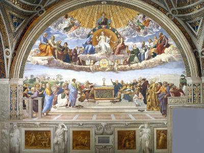 Disputation of the Holy Sacrament-Raphael-Giclee Print