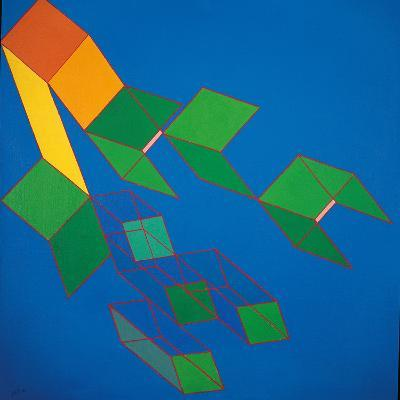 Dissipative Structures-Achille Perilli-Giclee Print