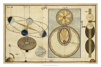 Distance of Sun, Moon & Planets-James Ferguson-Giclee Print