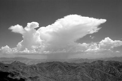 Distant Rain BW-Douglas Taylor-Photographic Print