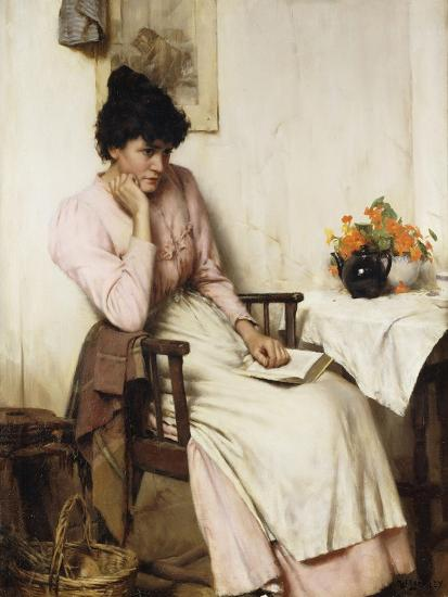 Distant Thoughts-Walter		 Langley-Giclee Print