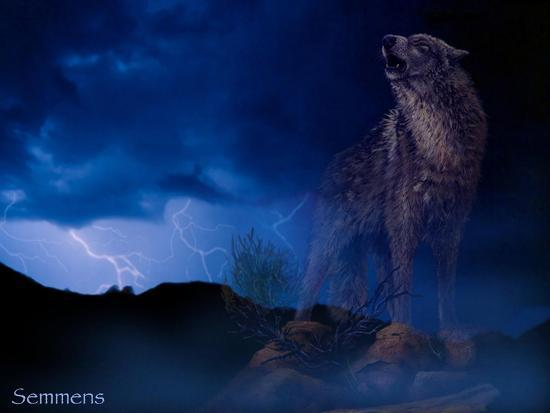 Distant Thunder-Gordon Semmens-Giclee Print