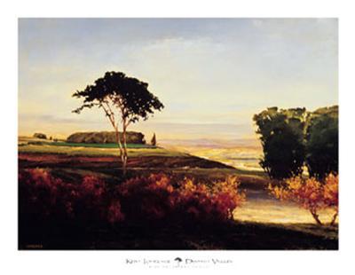 Distant Valley-Kent Lovelace-Art Print