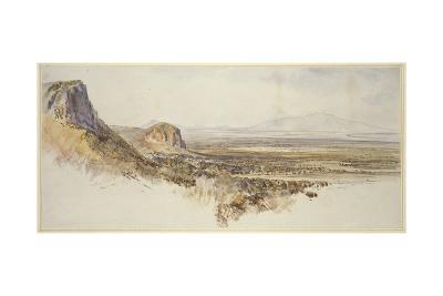 Distant View of Borghetto and Partenico-Edward Lear-Giclee Print