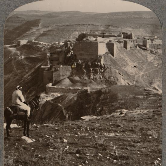 'Distant view of El Burak', c1900-Unknown-Photographic Print