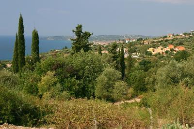 Distant View of Lourdas, Kefalonia, Greece-Peter Thompson-Photographic Print