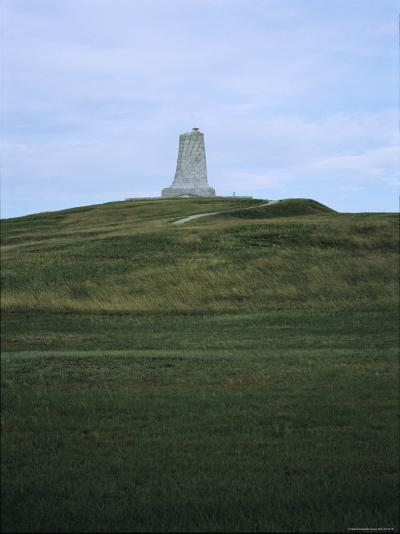 Distant View of the Wright Brothers National Monument-Vlad Kharitonov-Photographic Print