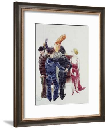 Distinguished Air-Charles Demuth-Framed Giclee Print