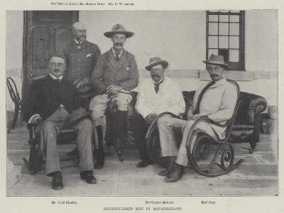 Distinguished Men in Matabililand--Giclee Print