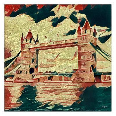 Distorted city scene 25-Jean-Fran?ois Dupuis-Art Print
