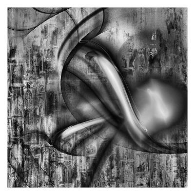 Distorted shape II-Jean-Fran?ois Dupuis-Art Print