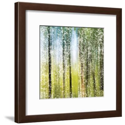 Distressed Forest-Melody Hogan-Framed Art Print