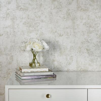Distressed Gold Leaf Pearl Self-Adhesive Wallpaper--Home Accessories