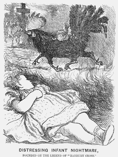 Distressing Infant Nightmare, 1865-George Du Maurier-Giclee Print