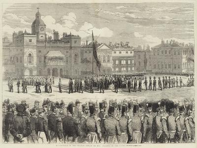 Distribution of the Crimean Medals by Her Majesty, at the Horse Guards--Giclee Print