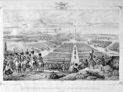 Distribution of the Crosses of the Legion of Honor at the Camp of Boulogne, 16 August 1804, 1841--Giclee Print
