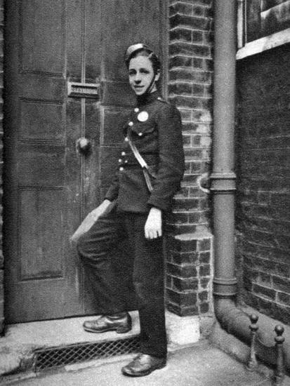 District Messenger, London, 1926-1927-McLeish-Giclee Print