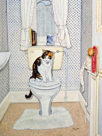 Cat on the Loo, 1991