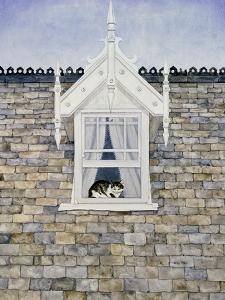 St.Helier Dormer Cat by Ditz