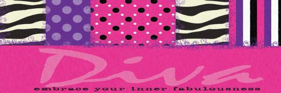 Diva-Taylor Greene-Art Print