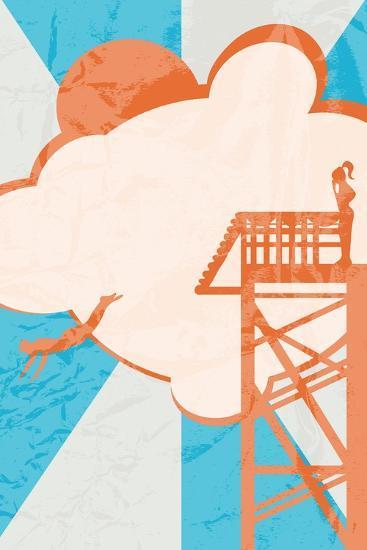 Diver-Hd Connelly-Art Print