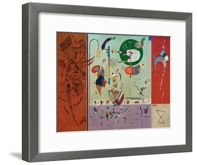 Diverse Parts, 1940-Wassily Kandinsky-Framed Giclee Print