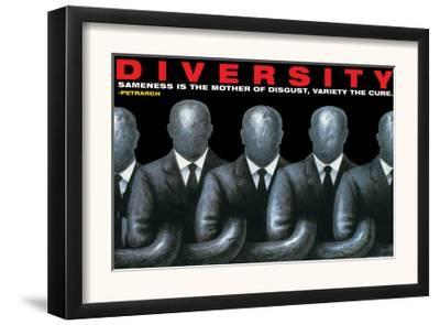 Diversity--Framed Art Print