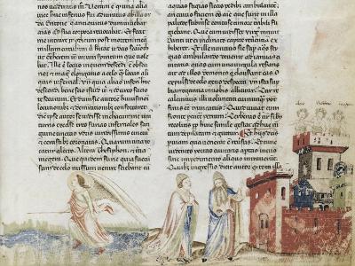 Divine Comédie de Dante. L'Enfer avec un commentaire de Fra Guido de Pise--Giclee Print