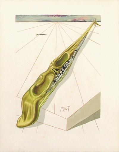 Divine Comedie, Enfer 14: Blasphemateurs-Salvador Dal?-Collectable Print